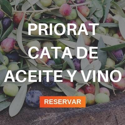 priorat aceite y vino
